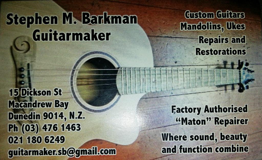 Steve Barkman card