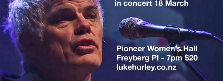 Luke Hurley Concert