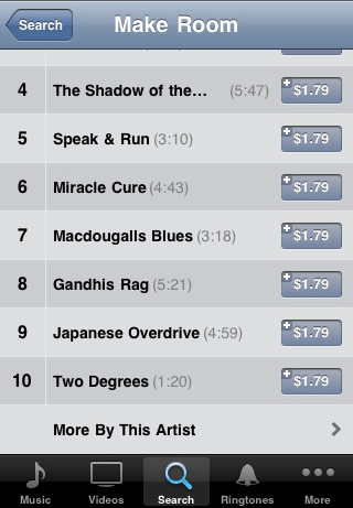 Make Room by Luke Hurley - Song List on iTunes
