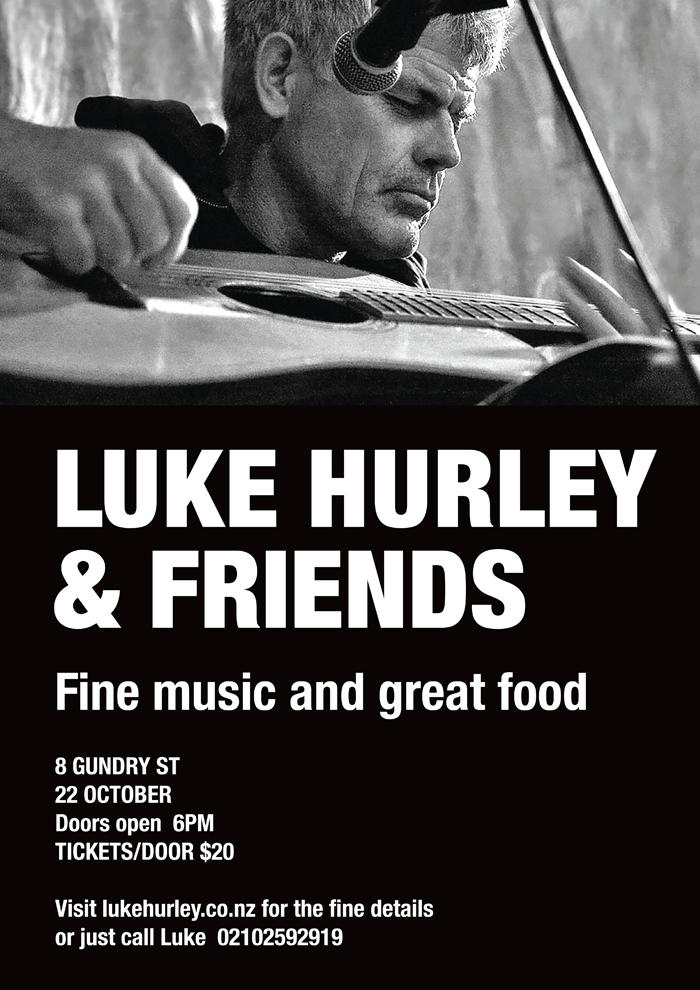 Luke Hurley & Friends 22 Oct