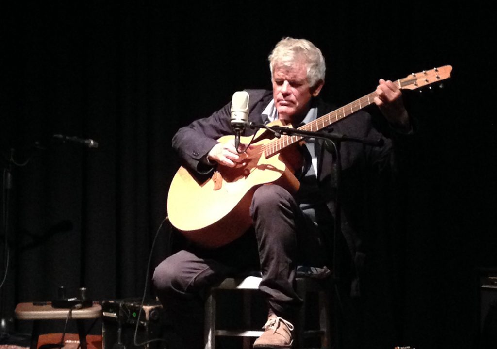Luke with Baritone guitar
