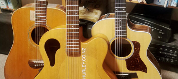 My Takoma Guitars