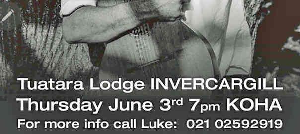 Tuatara Invercargill June 3rd