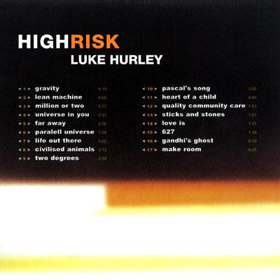 High Risk (2000) Luke Hurley
