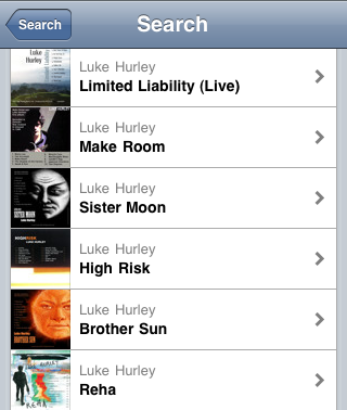 6 Luke Hurley albums live on iTunes now